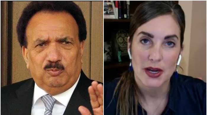 Rehman Malik serves third defamation notice to Cynthia Ritchie