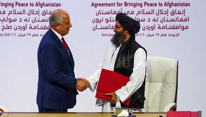Afghan Taliban reiterate commitment to Doha peace deal