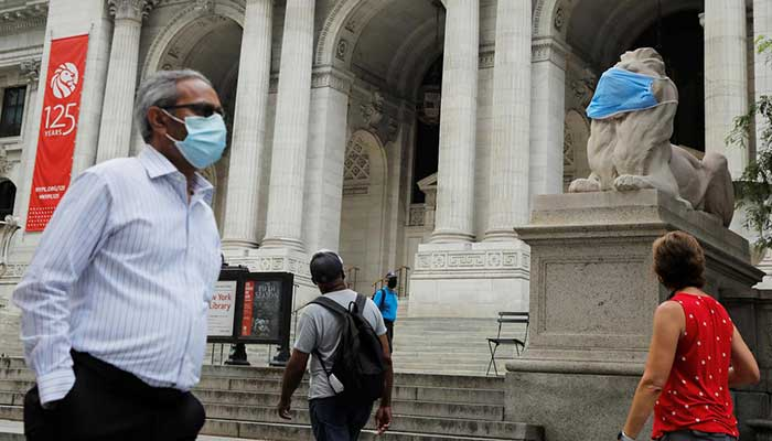 USA  reports nationwide coronavirus case record heading into July 4