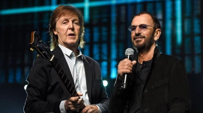 Beatles' Paul McCartney and Ringo Starr come together for a mega-reunion