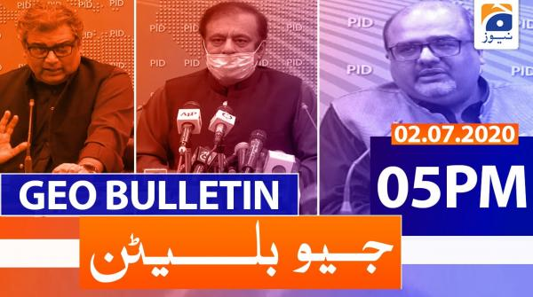 Geo Bulletin 05 PM | 2nd July 2020
