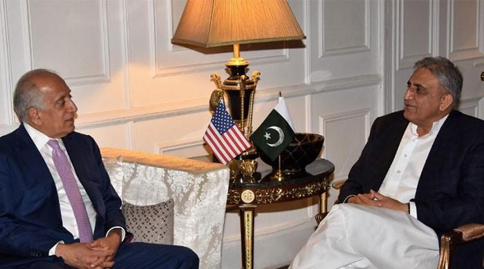 Khalilzad thanks Pakistan for efforts to advance Afghan peace process