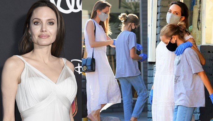 Angelina Jolie seen for first time in months as she goes shopping with daughter - Geo News