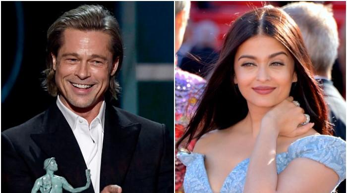 Brad Pitt confessed he wants to work with Aishwarya Rai in a Bollywood film