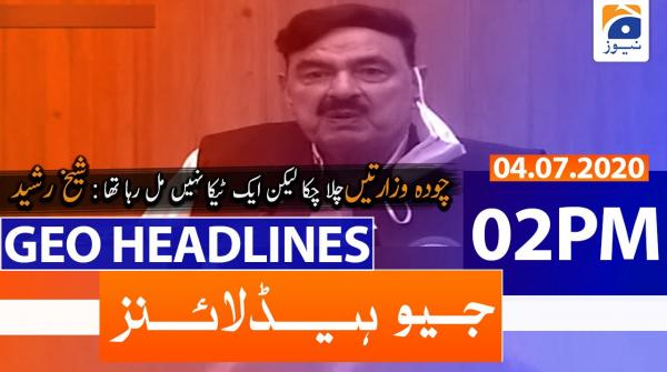 Geo Headlines 02 PM | 4th July 2020