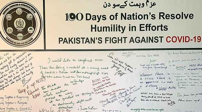 100 days of Pakistan's COVID-19 fight