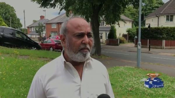 Birmingham: Pakistan-born taxi-driver faces torture by a Whiteman