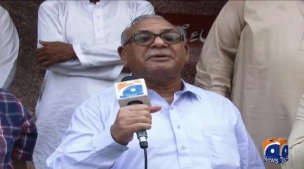 Pretest against MSR's arrest in Lahore