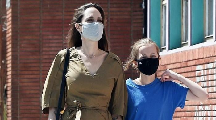 Angelina Jolie spotted running an errand with daughter Vivienne in LA