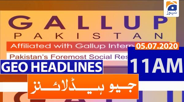 Geo Headlines 11 AM | 5th july 2020