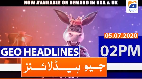 Geo Headlines 02 PM | 5th july 2020
