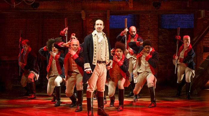 Fans gushing over Disney+ release of 'Hamilton' amid pandemic