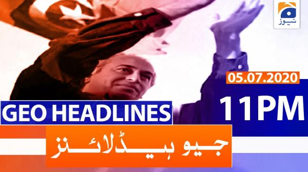 Geo Headlines 11 PM | 5th July 2020