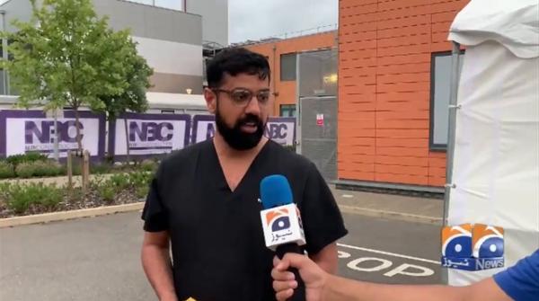 Geo News Special - Coronavirus sacrifices: Bilal Naseer gifts Pakistani mangoes to NHS workers