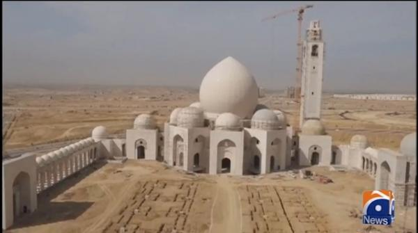 Bahria Town mosque enters final phase of construction