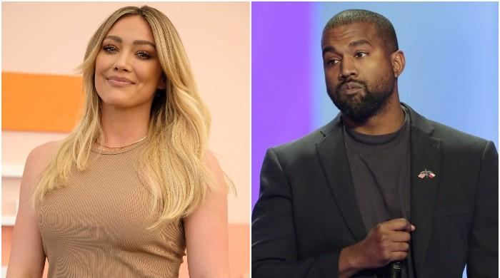 Hilary Duff mocks Kanye West's presidential bid by claiming she is also joining the race