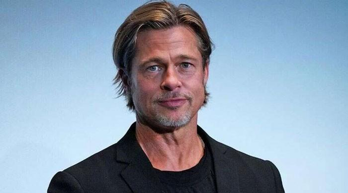 Brad Pitt has been asking people to wear a mask since way before the pandemic