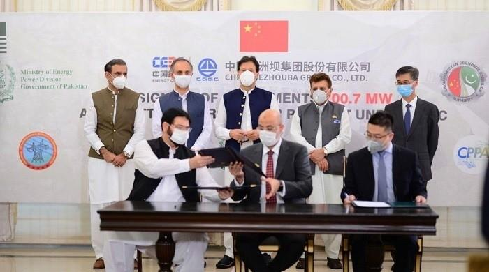 CPEC: Pakistan, China ink agreement of $1.5bn Azad Pattan Hydel Power Project