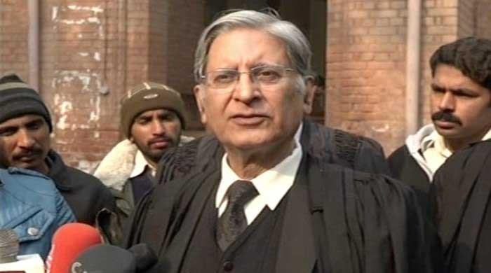 MSR property case does not fall under NAB's legal purview, says Aitzaz Ahsan