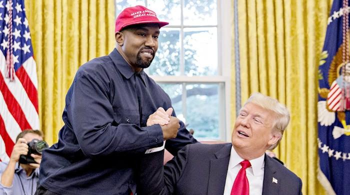 Donald Trump thinks Kanye West's presidential bid could be a 'great trial run'