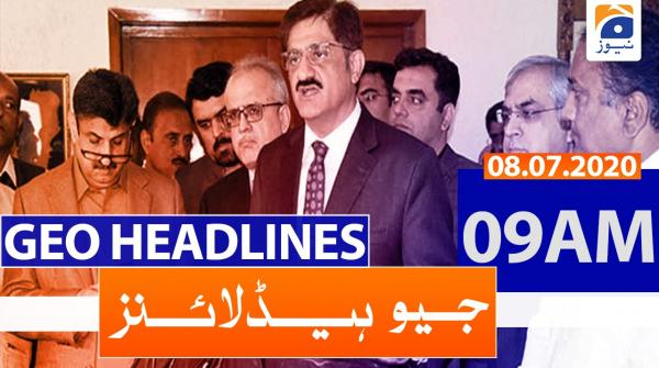 Geo Headlines 09 AM | 08th July 2020