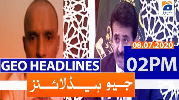 Geo Headlines 02 PM | 08th July 2020
