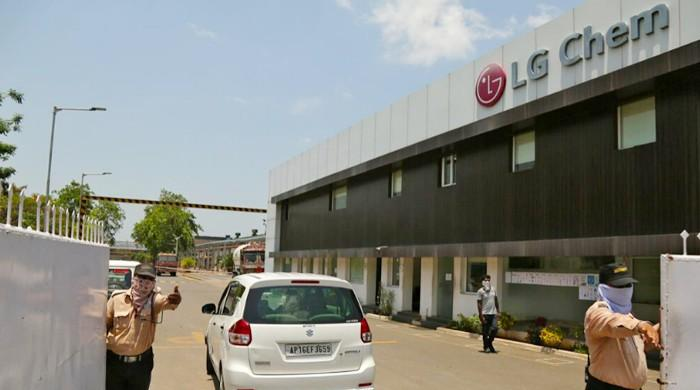 Head of India LG factory charged with manslaughter over toxic gas leak