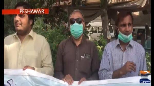 جنگ اورجیو کے ایڈیٹر اِنچیف کی گرفتاری کےخلاف مختلف شہروں میں احتجاج