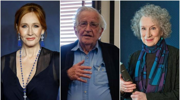 J.K. Rowling, Atwood, Chomsky warn 'free speech is under the threat of intolerance'