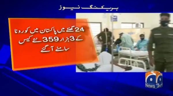 پاکستان: کورونا کیسز 240848 ، اموات 4983
