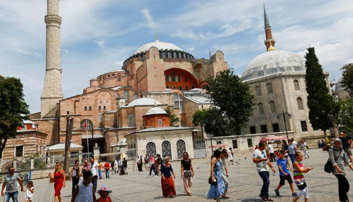 Hagia Sophia: Iconic Istanbul museum 'could return to mosque'