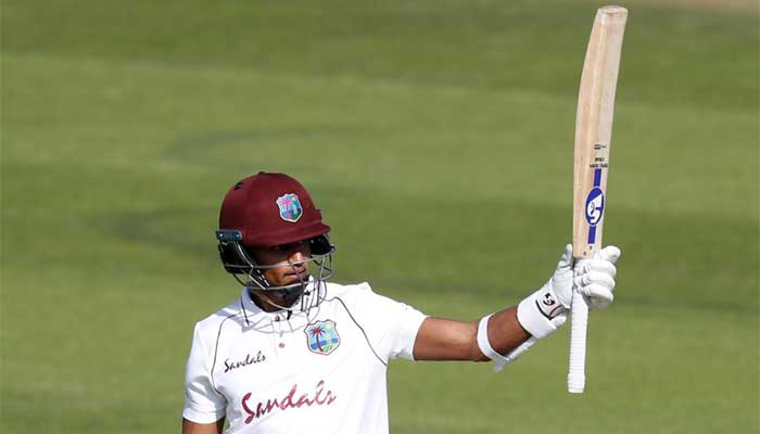 Hosts fight against Windies pace