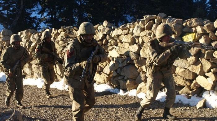 Four terrorists killed in North Waziristan operation: ISPR