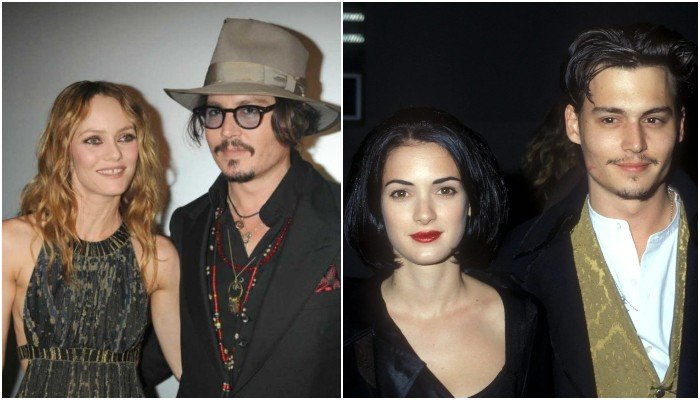 Johnny Depps exes Winona Ryder, Vanessa Paradis to testify on his behalf - Geo News