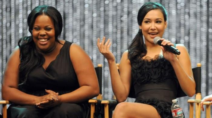 Amber Riley responds to criticism over her silence on Naya Rivera's disappearance
