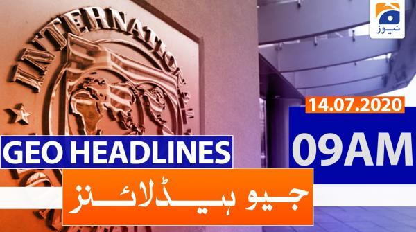 Geo Headlines 09 AM | 14th July 2020