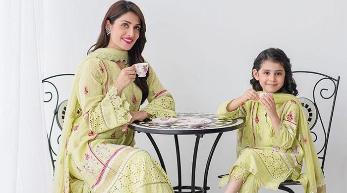 Ayeza Khan celebrates daughter Hoorain's fifth birthday in style