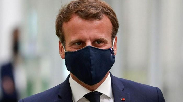 Face masks will be required indoors to curtail virus outbreak, says France's Macron