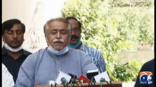 Islamabad: PPP leader Maula Bakhsh Chandio's press conference