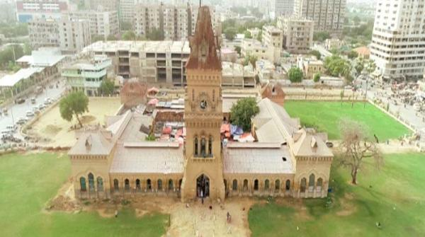 Aerial view of Empress Market