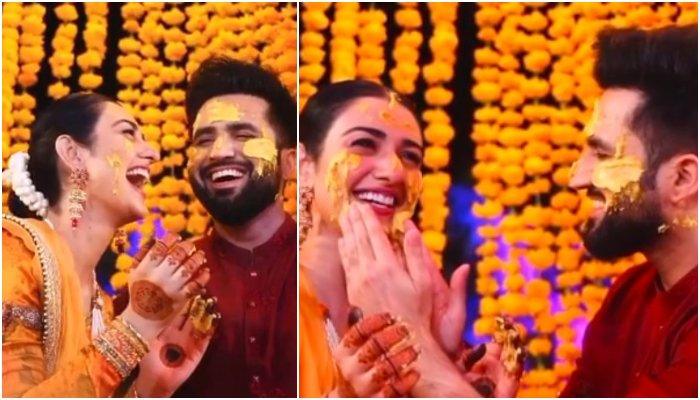 Sarah Khan, Falak Shabir caught beaming with joy in a candid ...