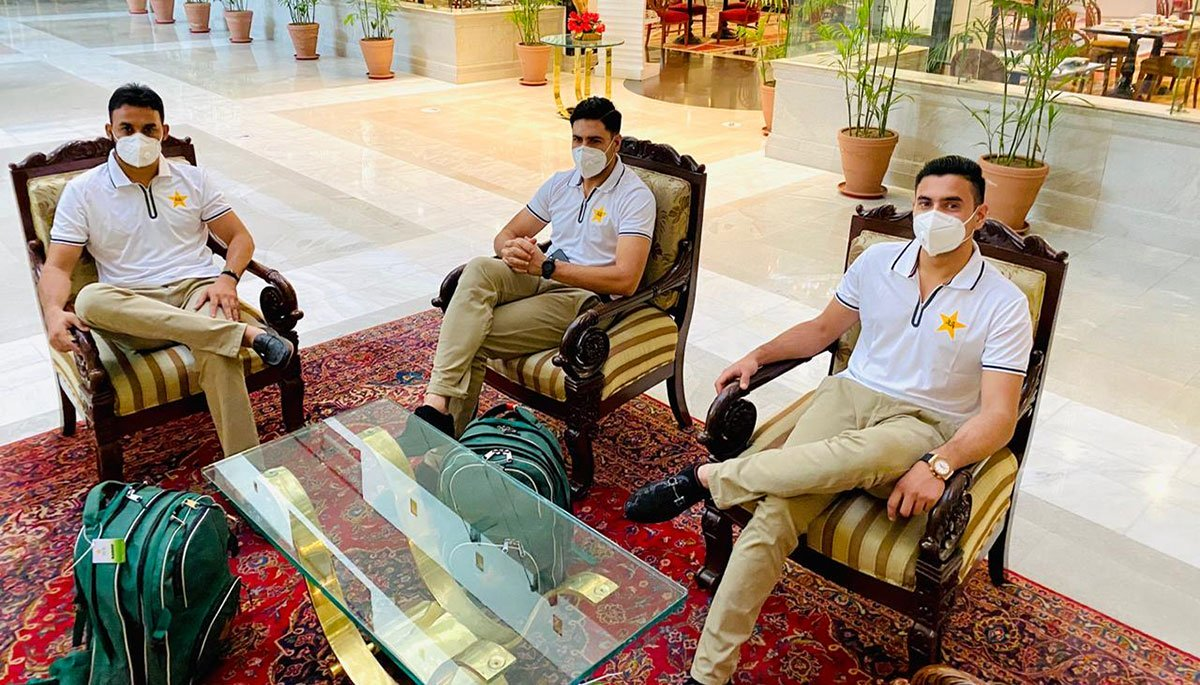 Pakistan player back in squad after positive coronavirus test