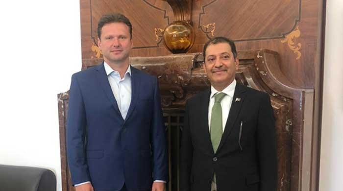 Czech Parliament's speaker stresses need for peaceful solution to Kashmir dispute