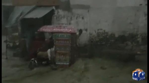 حیدرآباد ، بدین ، میرپور خاص میں بھی تیز بارش