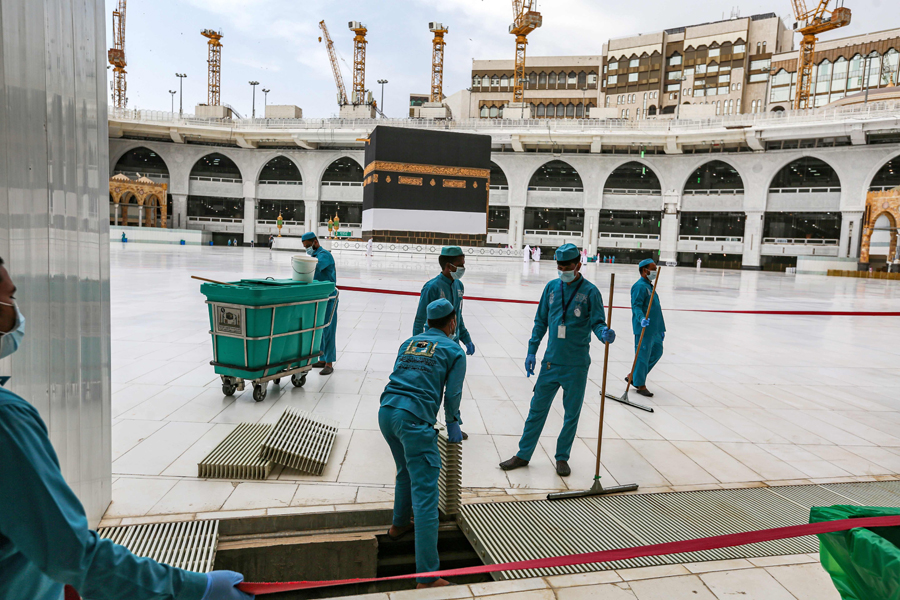 Downsized, Hajj 2020 begins in Saudi Arabia