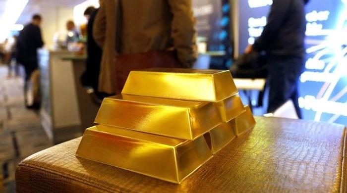 Gold rate in Pakistan reaches Rs122,750 a tola