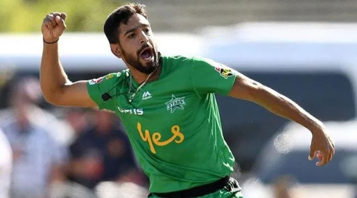 Haris Rauf to join team in England after returning second negative Covid- 19 test