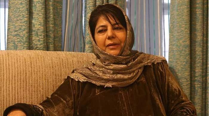 India heightening security to hide people's anger and frustration: Mehbooba Mufti