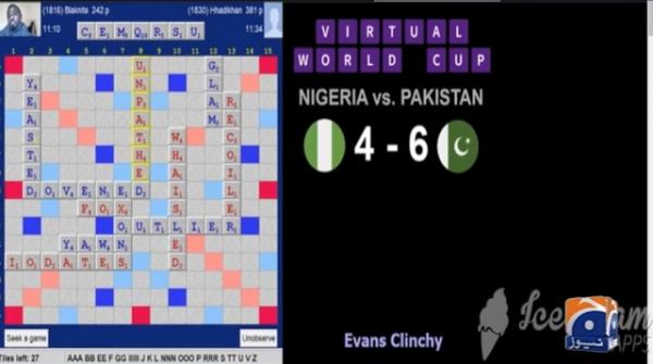 Pakistan reaches semi-finals of Virtual Scrabble World Cup