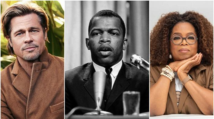 Brad Pitt and Oprah Winfrey to pay homage to civil rights icon John Lewis